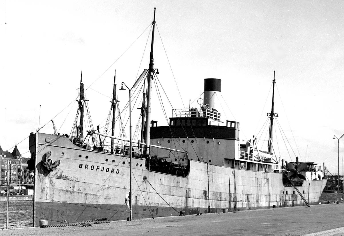 NB 90 Brofjord i Helsingborg 1960