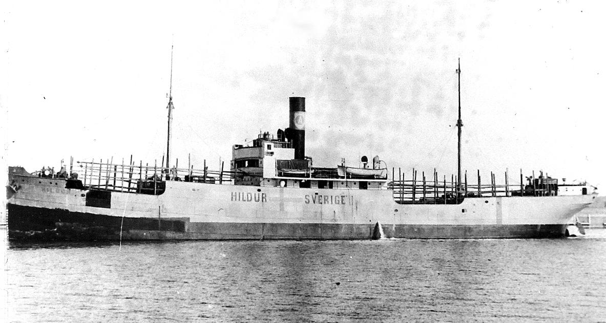 NB 90 Hildur under WWII