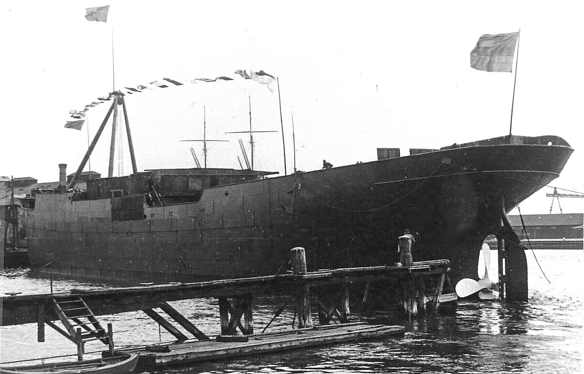 NB 90 Nord sjösättning